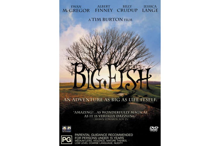 Big Fish DVD Region 4