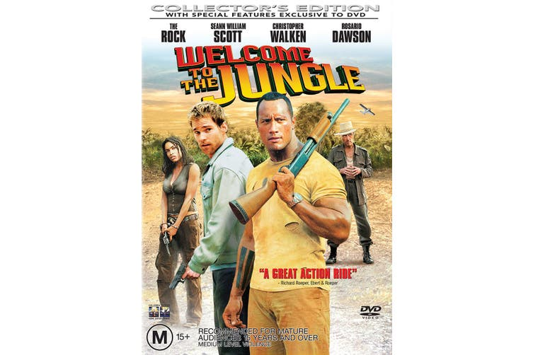 Welcome to the Jungle DVD Region 4