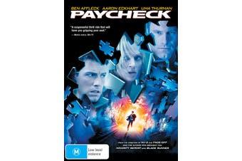 Paycheck DVD Region 4