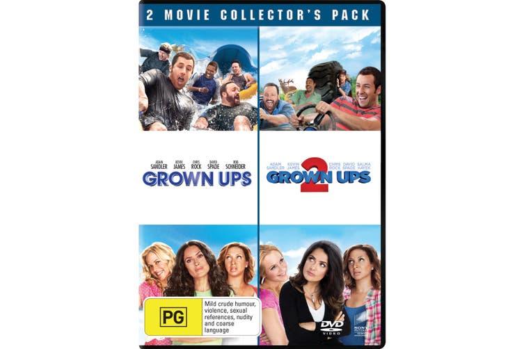 Grown Ups / Grown Ups 2 DVD Region 4