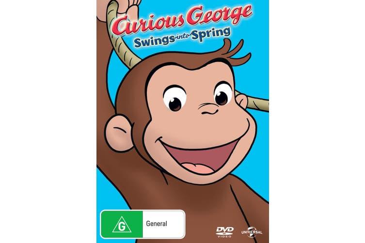 Curious George Swings Into Spring DVD Region 4