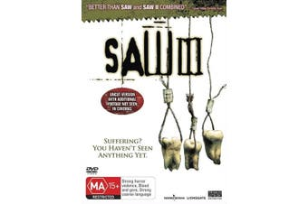 Saw III DVD Region 4