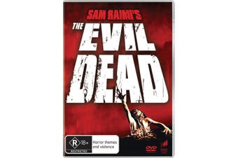 The Evil Dead DVD Region 4
