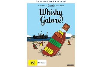 Whisky Galore DVD Region 4