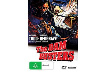 The Dam Busters DVD Region 4