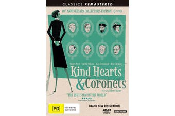 Kind Hearts and Coronets 70th Anniversary Edition DVD Region 4