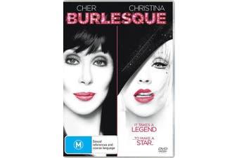 Burlesque DVD Region 4