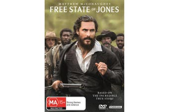 Free State of Jones DVD Region 4
