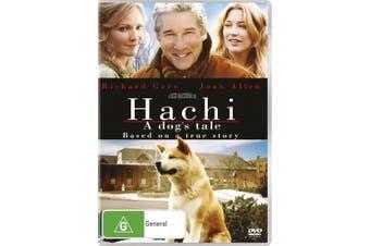 Hachi A Dogs Tale DVD Region 4