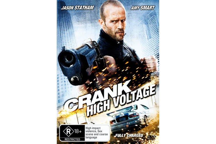 Crank 2 High Voltage DVD Region 4