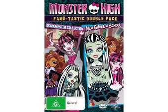 Monster High Scaremester Collection / New Ghoul at School DVD Region 4