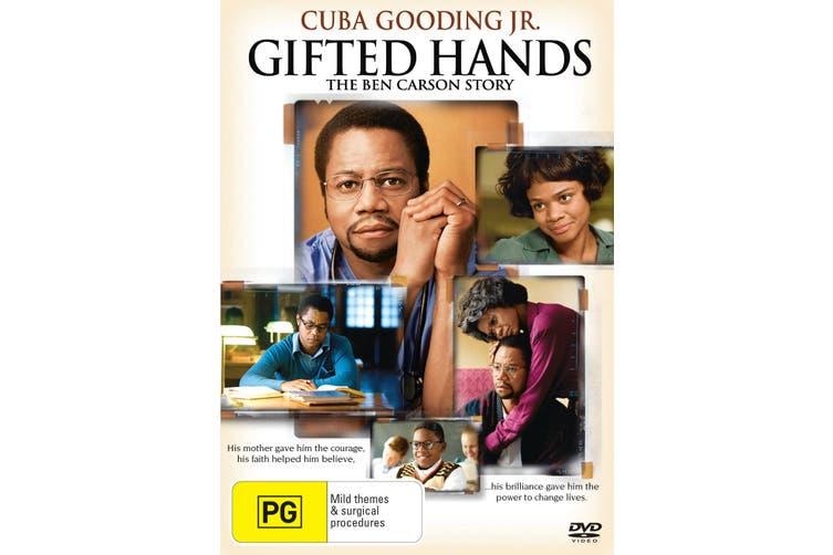 Gifted Hands The Ben Carson Story DVD Region 4