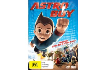 Astro Boy DVD Region 4