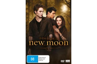The Twilight Saga New Moon DVD Region 4