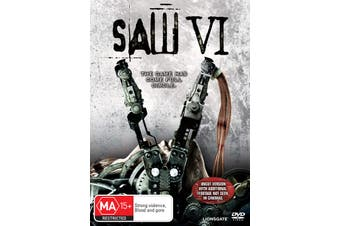 Saw VI DVD Region 4