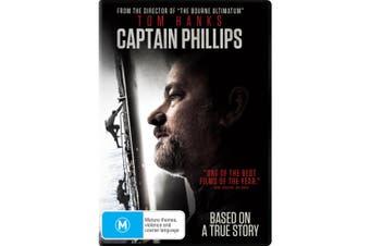 Captain Phillips DVD Region 4