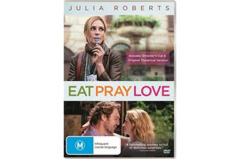 Eat Pray Love DVD Region 4