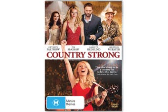 Country Strong DVD Region 4