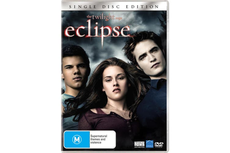 The Twilight Saga Eclipse DVD Region 4