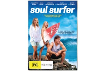 Soul Surfer DVD Region 4