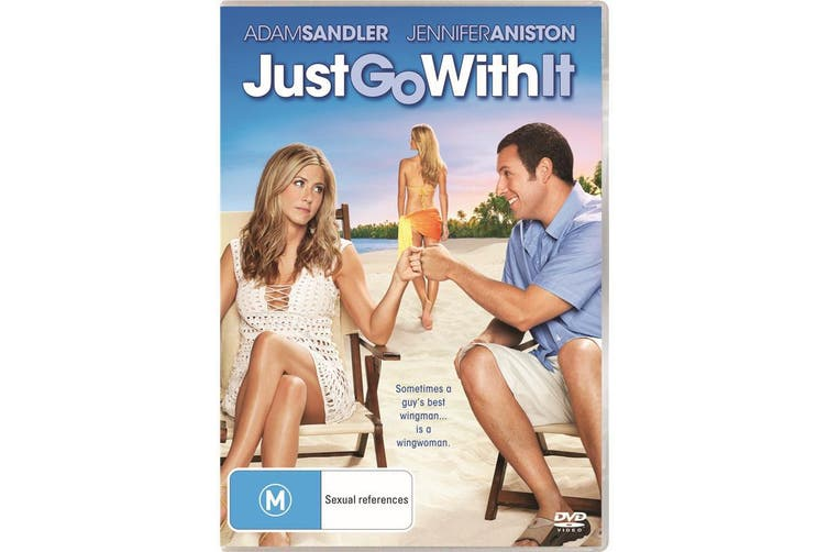 Just Go With It DVD Region 4