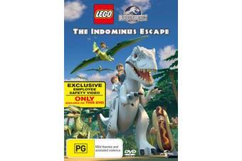 LEGO Jurassic World The Indominus Escape DVD Region 4
