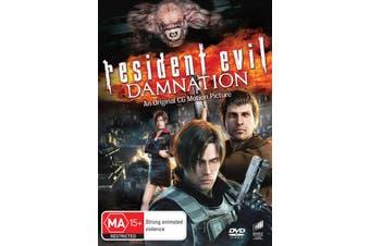 Resident Evil Damnation DVD Region 4