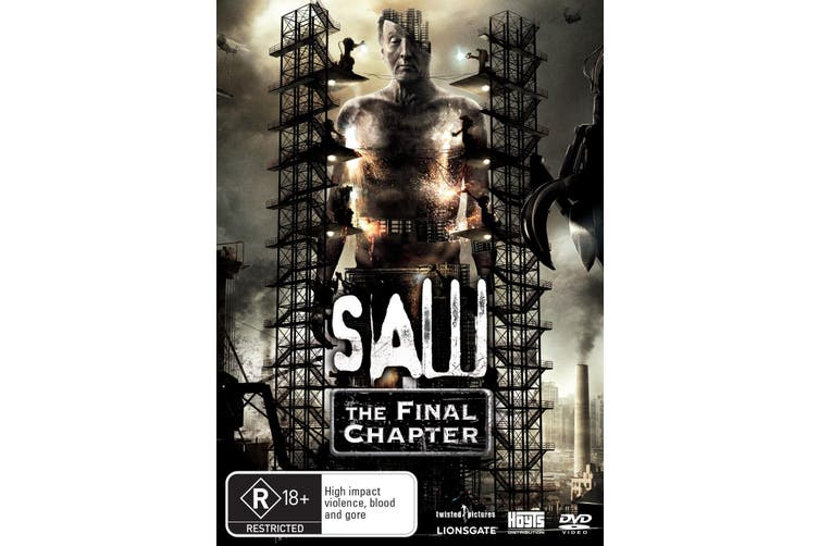 Saw The Final Chapter DVD Region 4