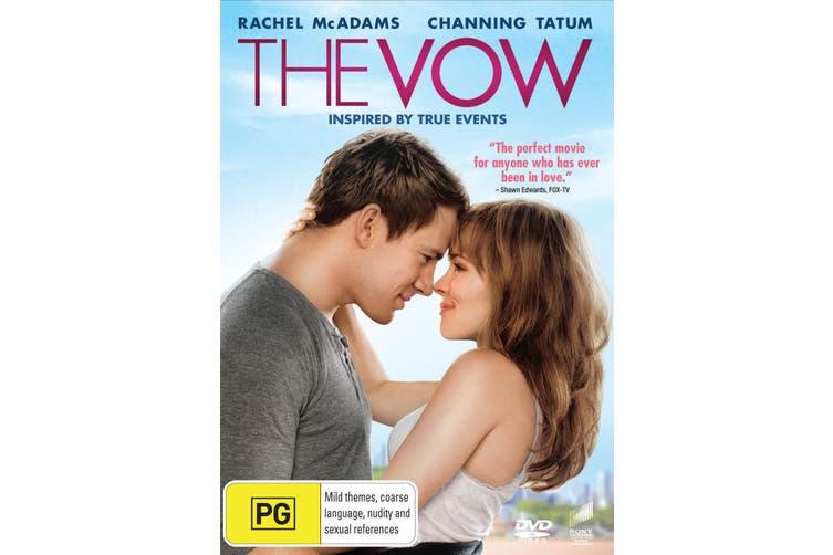 The Vow DVD Region 4