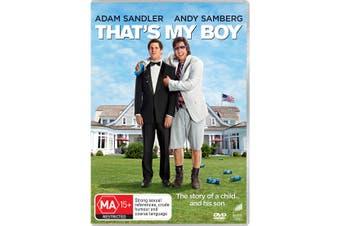 Thats My Boy DVD Region 4