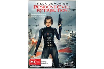 Resident Evil Retribution DVD Region 4