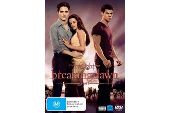 The Twilight Saga Breaking Dawn Part 1 DVD Region 4