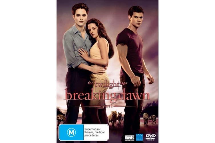 Dick Smith The Twilight Saga Breaking Dawn Part 1 Dvd Region 4 Drama