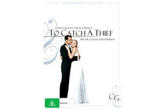 To Catch a Thief DVD Region 4