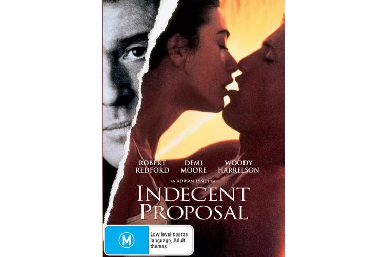 Indecent Proposal DVD Region 4