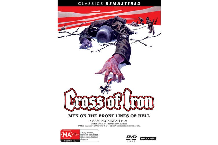 Cross of Iron DVD Region 4