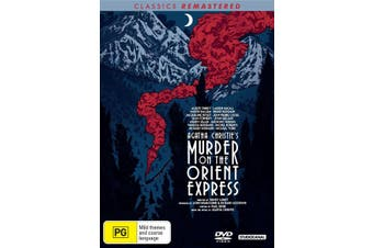 Murder On the Orient Express DVD Region 4