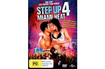 Step Up 4 Miami Heat DVD Region 4