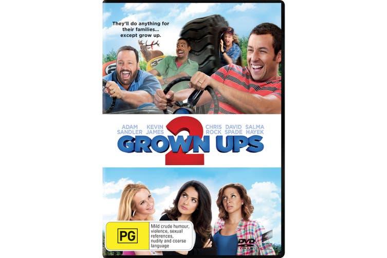 Grown Ups 2 DVD Region 4
