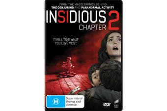 Insidious Chapter 2 DVD Region 4