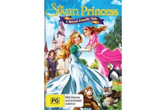The Swan Princess A Royal Family Tale DVD Region 4