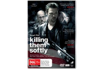 Killing Them Softly DVD Region 4