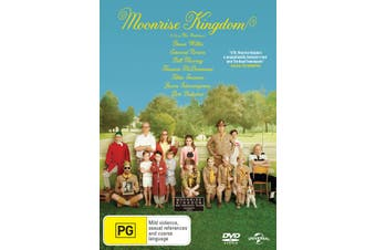 Moonrise Kingdom DVD Region 4