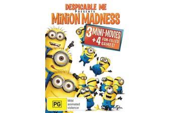 Despicable Me Presents Minion Madness DVD Region 4