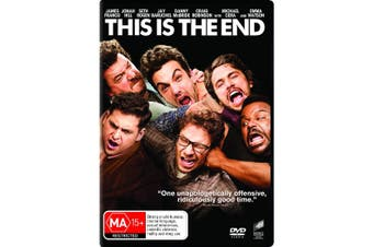 This Is the End DVD Region 4