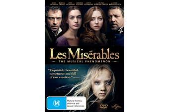 Les Misérables DVD Region 4