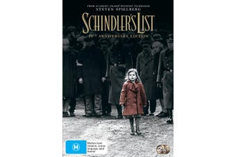 Schindlers List 25th Anniversary Edition DVD Region 4