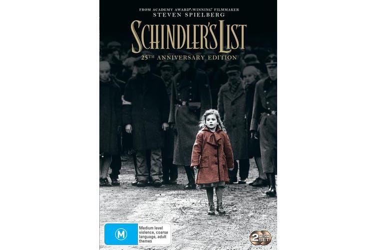 Schindlers List 25th Anniversary Edition DVD Region 4