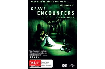 Grave Encounters DVD Region 4
