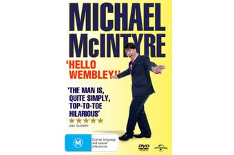 Michael McIntyre Hello Wembley DVD Region 4